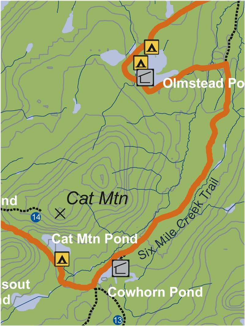 Six-Mile Creek Trail