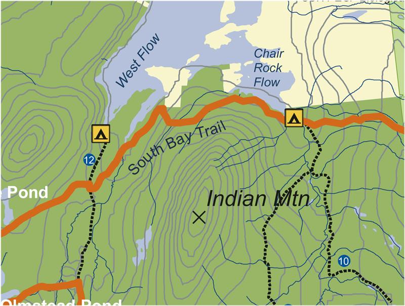 South Bay trail