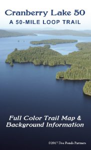 The new Cranberry Lake 50 map / brochure